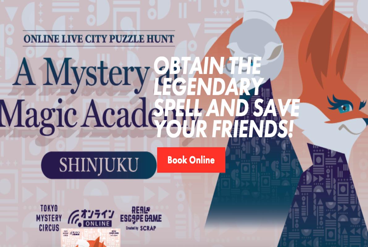 A Mystery at Magic Academy SHINJUKU Online