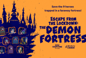 Квест Escape from the Lockdown: The Demon Fortress Online