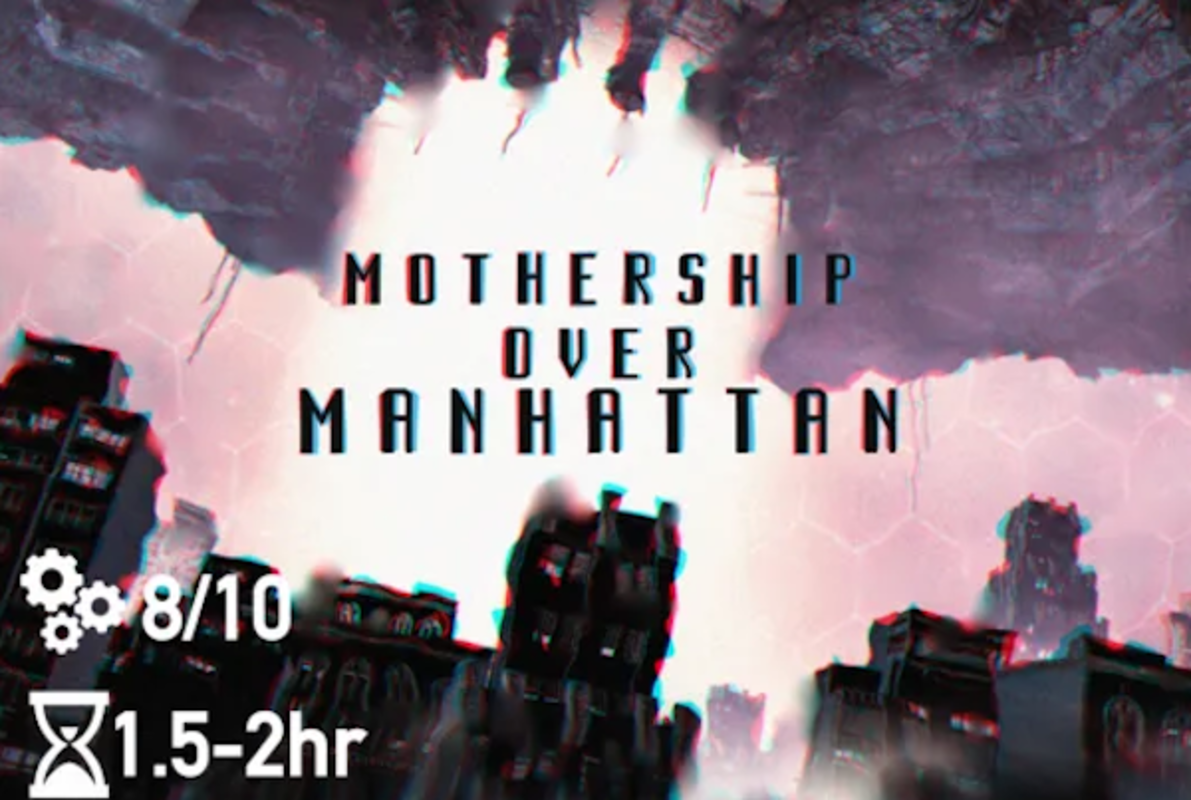 Mothership Over Manhattan Online