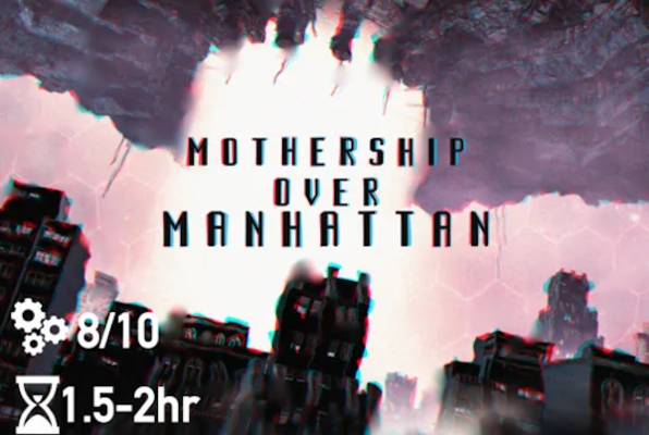 Mothership Over Manhattan Online (Clue Chase) Escape Room