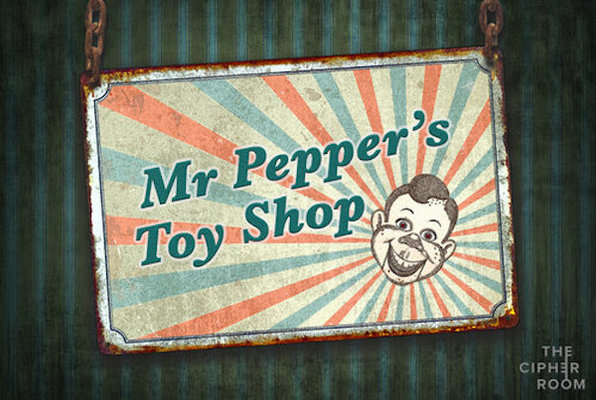 Mr Pepper's Toy Shop (The Cipher Room) Escape Room