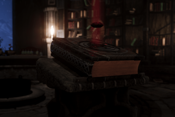 The Magic Book VR (Virtual Escape Graz) Escape Room