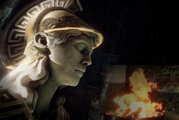 Beyond Medusa's Gate VR (Sneaky Dog Escapes) Escape Room