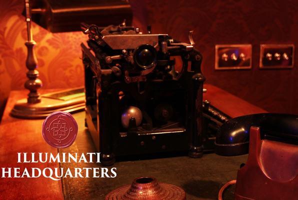 Illuminati Headquarters (One Hour Lockup) Escape Room