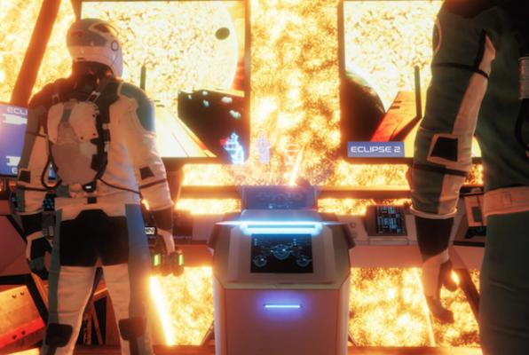 Eclipse VR (Virtual Experience) Escape Room