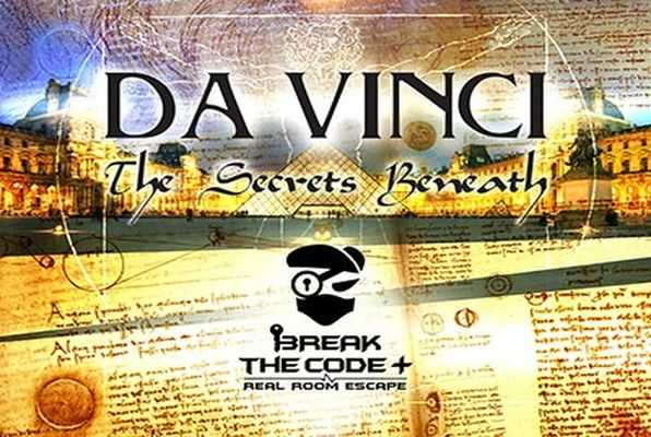 Da Vinci - The Secrets Beneath (Break the Code) Escape Room