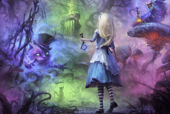 Alice in Wonderland VR (Player Ready Plymouth) Escape Room