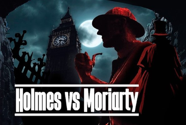 Sherlock Holmes vs Moriarty (Clue Hunter) Escape Room