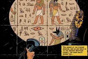 Квест 고대박물관의 비밀