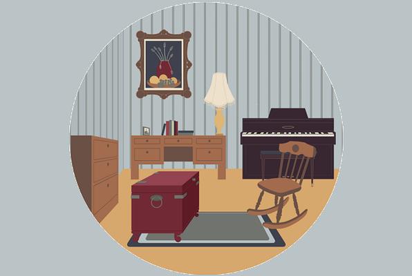 The Hidden Heirloom (Room Escape Wizards) Escape Room