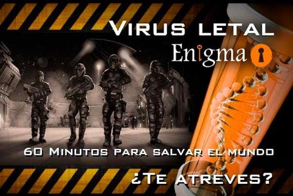 Virus Letal (Clue Hunter) Escape Room