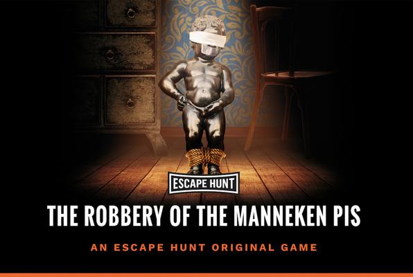 Robbery of the Manneken Pis (Escape Hunt) Escape Room