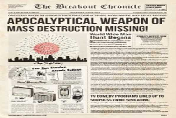 Project Fallout (Breakout) Escape Room