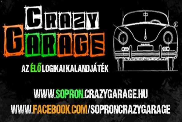Lopd el a verdát, ha tudod.. (Crazy Garage) Escape Room