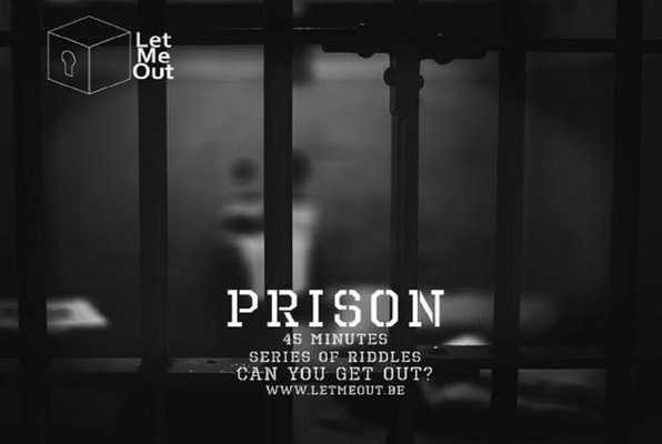 Prison (Let Me Out Brussels) Escape Room