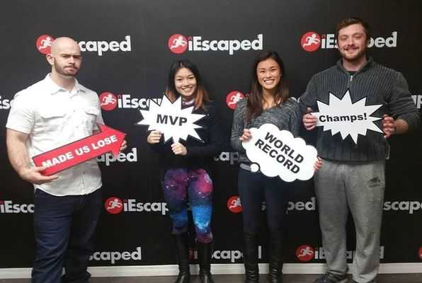 Space (iEscaped) Escape Room