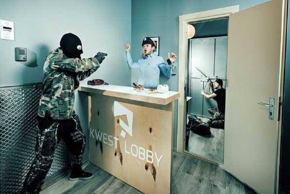 Loterijas Laupīšana (Kwest) Escape Room