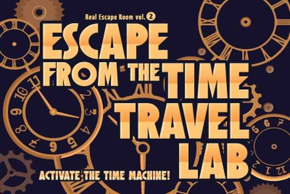 Escape from the Time Travel Lab (SCRAP) Escape Room