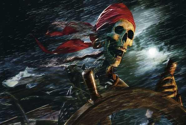 Pirate Ship (Break the Code) Escape Room
