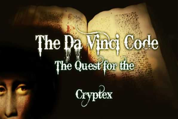 The Da Vinci Code (The Great Escape Canada) Escape Room