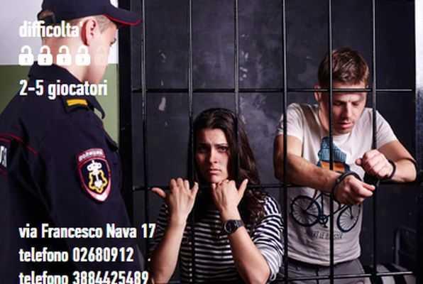 Fuga dalla prigione (Escapers) Escape Room