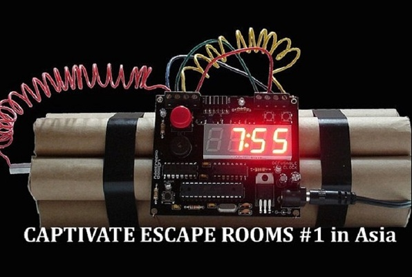 FBI: Zero Hour (Captivate Escape Rooms) Escape Room