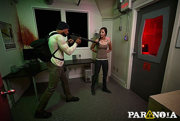 Zombie Apocalypse (Paranoia Quest) Escape Room