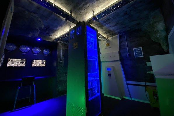 Bunker Heist (Locked Room Budapest) Escape Room