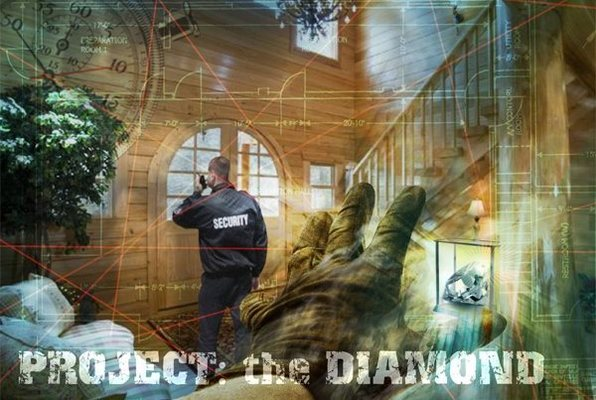 Project: The Diamond (Exciting Game) Escape Room