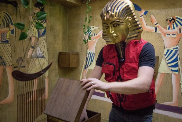 Escape The Tomb of King Tut (Never Give Up Newcastle) Escape Room