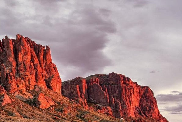 Puzzles of Superstition Mountains