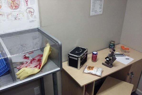 CDC Laboratories - Viral Containment