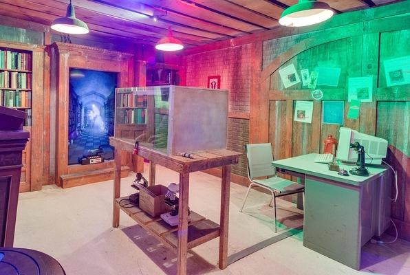 Ghostbusters! (Escape Room Live) Escape Room