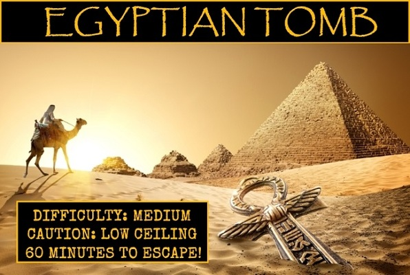 Egyptian Tomb (Lockhouse Games) Escape Room