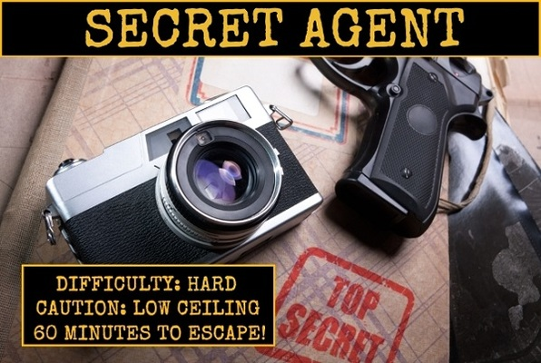 Secret Agent (Lockhouse Games) Escape Room