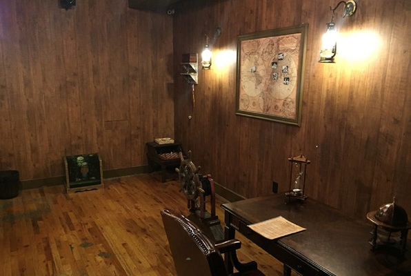 Caribbean Pirate Ship (Philadelphia Room Escape) Escape Room
