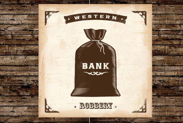 Wild West Bank Robbery (Can You Rob The Bank?) Escape Room
