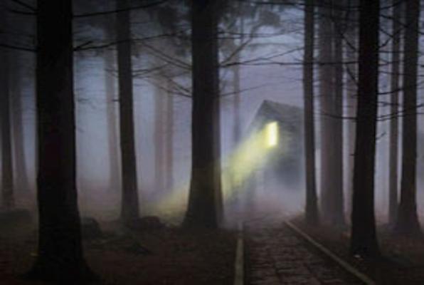 Chatka w zaczarowanym lesie