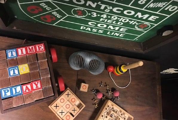 Professor Moriarty's Gameroom (The Great Escape Room) Escape Room