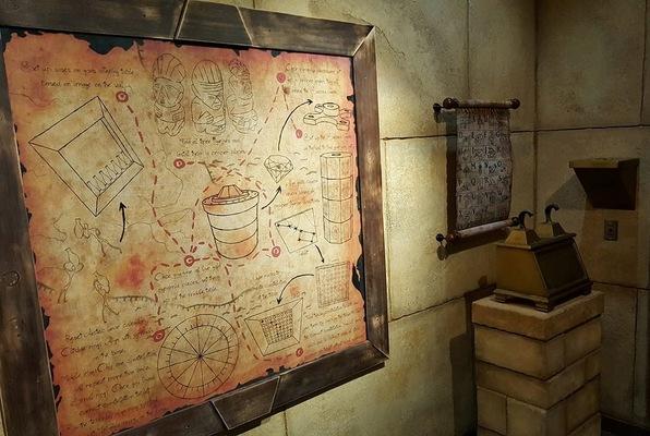 The Dig (Paranoia Quest) Escape Room