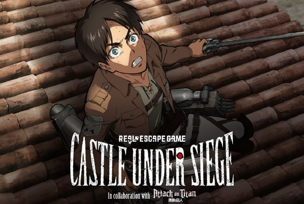 Castle Under Siege (Real Escape Game x Attack On Titan ) Escape Room