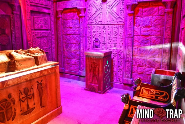 Pharaoh's Chamber (Mind Trap Escape Rooms) Escape Room