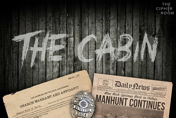 The Cabin (The Cipher Room) Escape Room