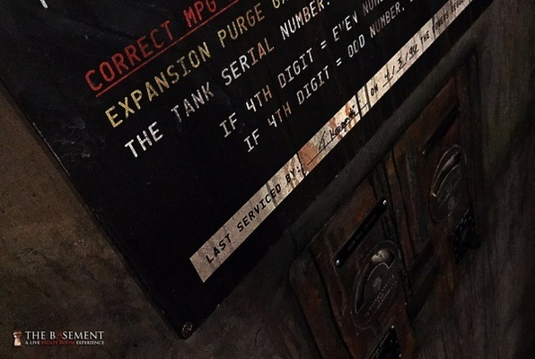 The Elevator Shaft (The Basement) Escape Room