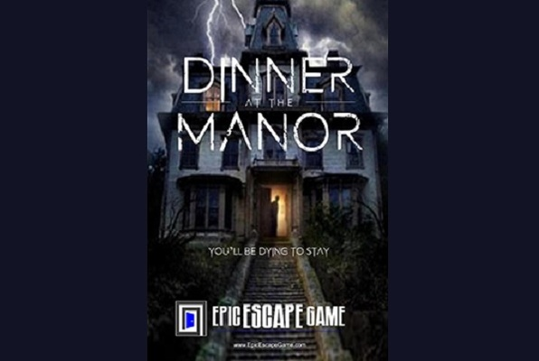 Dinner at the Manor (Epic Escape Game) Escape Room