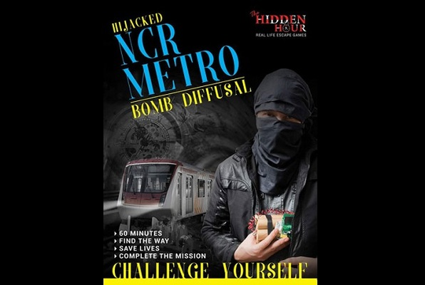 HIJACKED NCR METRO - BOMB DIFFUSAL (The Hidden Hour) Escape Room