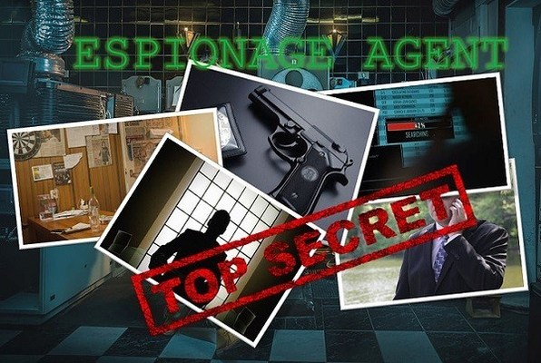 Espionage Agent (The Mansion Escape Room) Escape Room