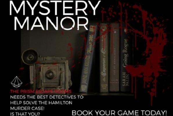 Mystery Manor (The Prism Escape Rooms) Escape Room