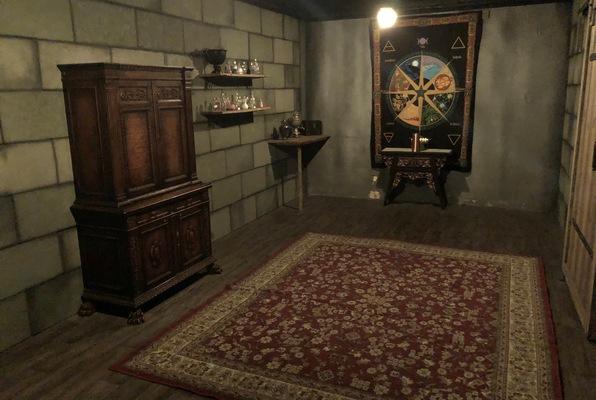Merlin's Secret Chamber