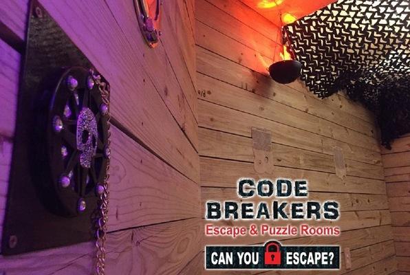El Cazador Shipwreck (Code Breakers Escape and Puzzle Rooms) Escape Room